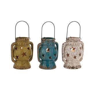 The Exquisite Ceramic Lantern 3 Assorted
