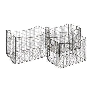 Classy Styled Stylish Metal Wire Basket