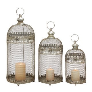 (Set Of 3) Amazing Metal Lantern