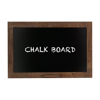 Smart Contemporary Styled Wood Blackboard
