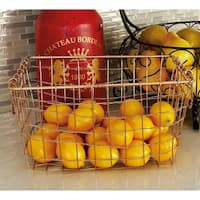 Durable Metal Wire Basket (Set Of 3)
