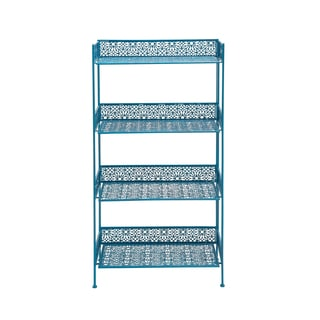 The Amazing Metal Baker Rack Blue