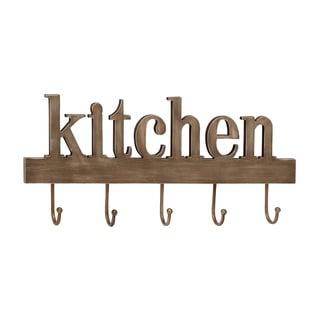 Multi-Purpose Wood Metal Kitchen Wall Hook