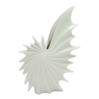 Ceramic Shell Shaped Elegant Vase