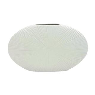 Ivory White Yangtze Ceramic Vase