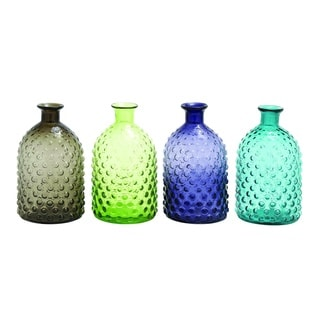 Colorful Glass Vase (Set Of 4)