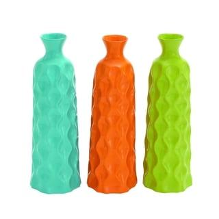 Ceramic Vase 3 Bright Multicolored Ceramic Vase