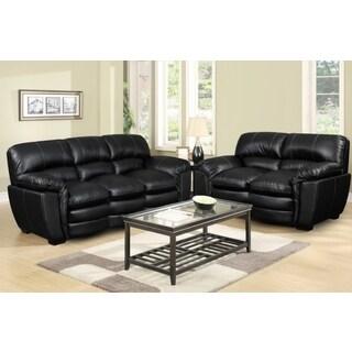 Picket House Carter Sofa Set in Black
