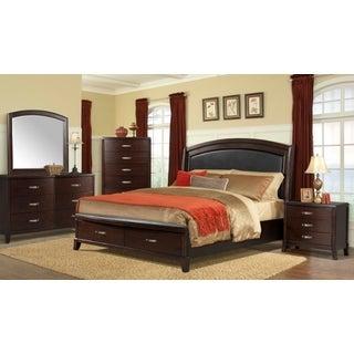 Copper Grove Dalbeattie King Platform Storage 6PC Bedroom Set w/ USB