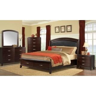 Picket House Furnishings Elaine Queen Platform Storage 4PC Bedroom Set W/  USB