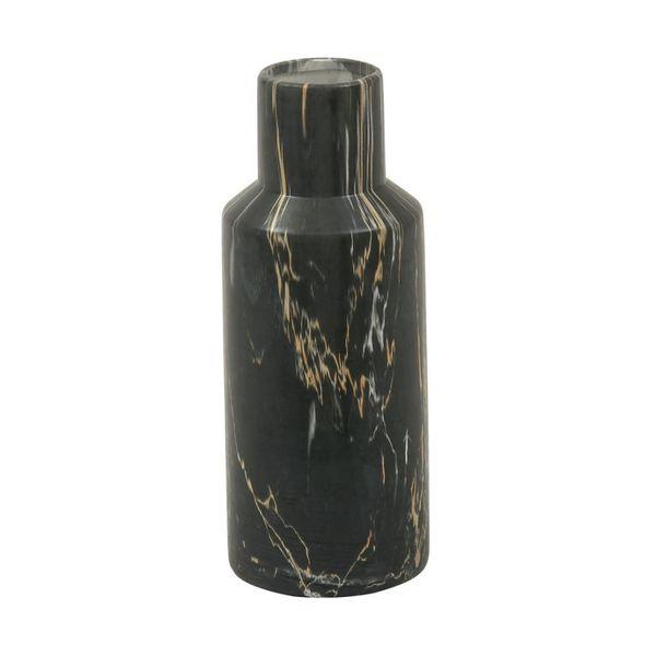 Ceramic Black Marble Decorative Vase