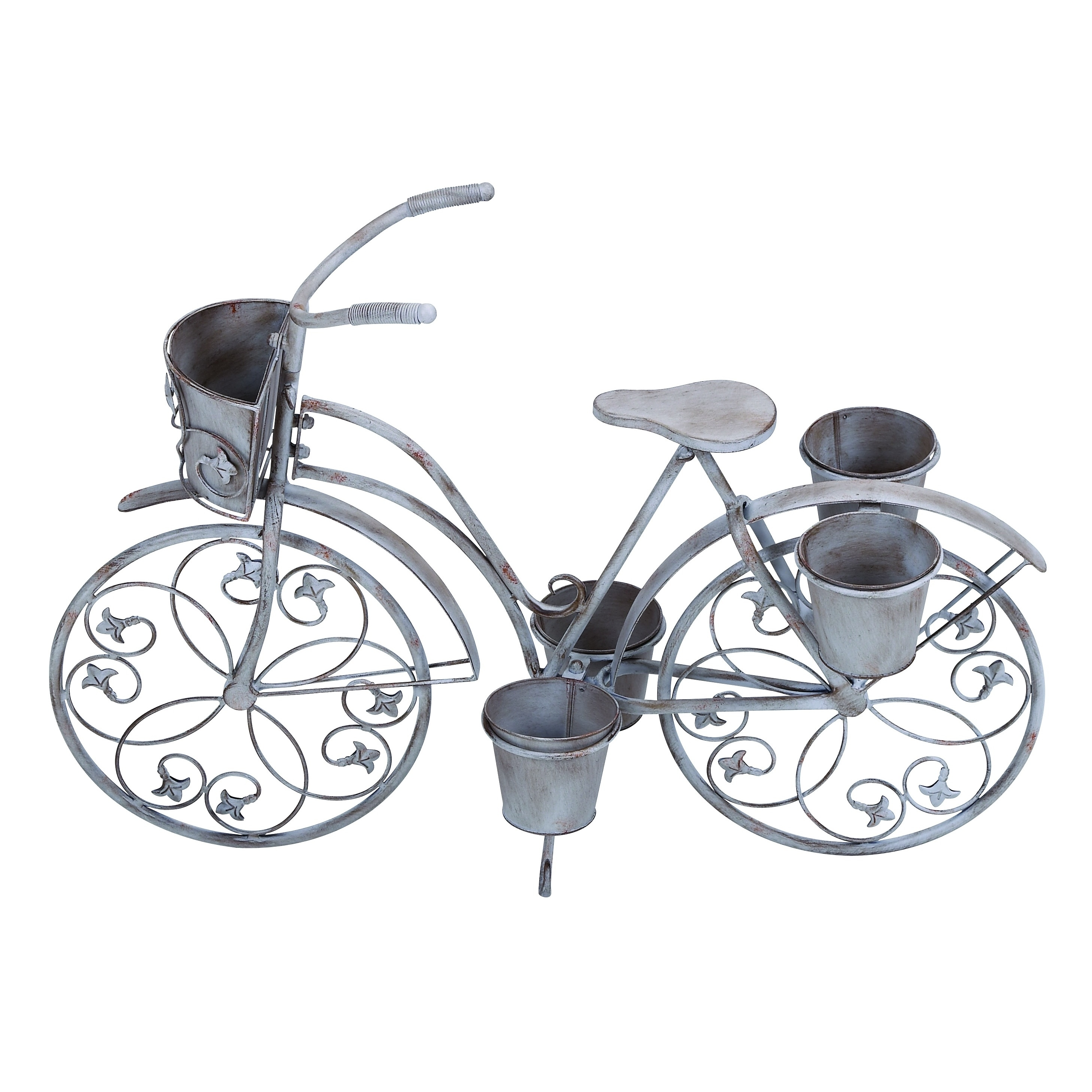 Studio 350 Classic Style Bicycle Planter for Your Potted ...