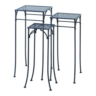 Set of 3 Square Plant Stands