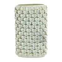 Decorative Heart Engraved Ceramic Vase