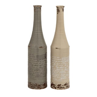 Ceramic Set of 2Vases
