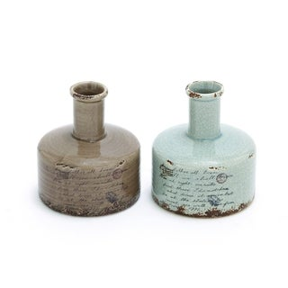 Weather-resistant Natural/Antique Design Ceramic Vases