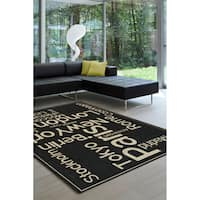 Avenue Cities Of The World Rug (7'10 x 10'10)