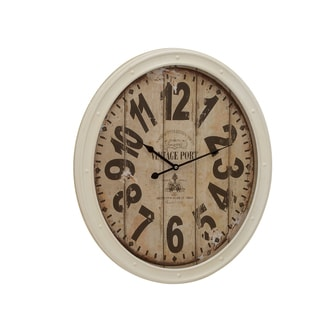 Buckingham Contemporary Metal Wall Clock