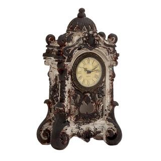 White Ceramic Table Clock