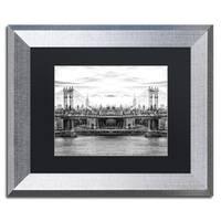 Philippe Hugonnard 'New York Reflection III' Matted Framed Art