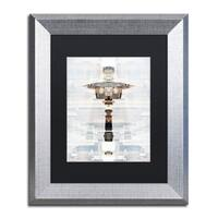 Philippe Hugonnard 'New York Reflection II' Matted Framed Art