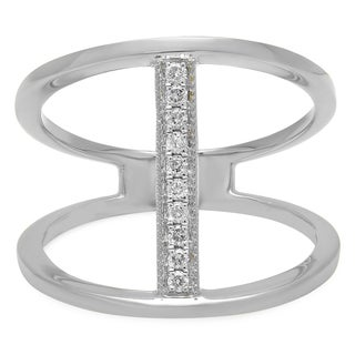 14k Gold 1/10ct TDW Diamond Anniversary Wedding Band Enhancer Ring (I-J, I1-I2)