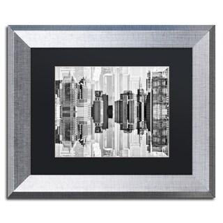 Philippe Hugonnard 'New York Reflection VII' Matted Framed Art