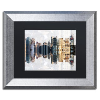 Philippe Hugonnard 'New York Reflection IV' Matted Framed Art