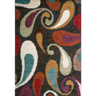 Christopher Knight Home Rose Sabrina Multi Paisley Frieze Rug (8' x 10')