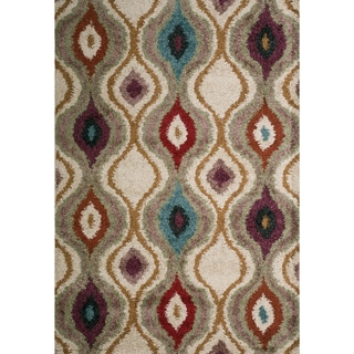 Christopher Knight Home Rose Novio Multi Ikat Frieze Rug (8' x 10')