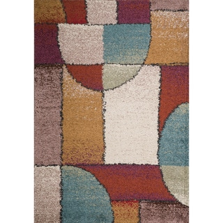 Christopher Knight Home Rose Margarete Abstract Frieze Rug (8' x 10')