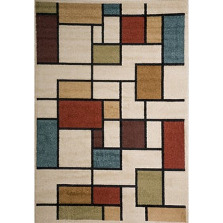 Christopher Knight Home Rosemary Aileen Indoor/Outdoor Geometric Frieze Rug (5' x 8')