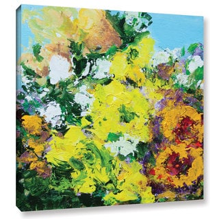 Allan Friedlander's 'Alnwick Garden' Gallery Wrapped Canvas