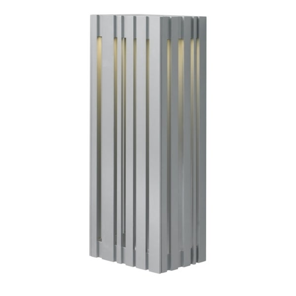 LBL Uptown 1 Light Large Silver Outdoor Light