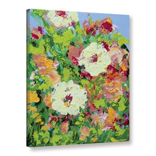 Allan Friedlander's 'Arylies Garden' Gallery Wrapped Canvas