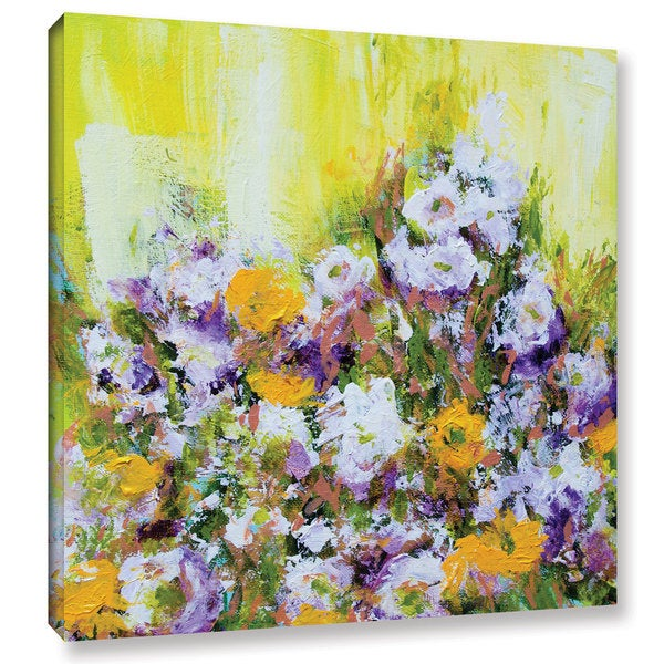 Allan Friedlander's 'Bois De Vincennes Garden' Gallery Wrapped Canvas
