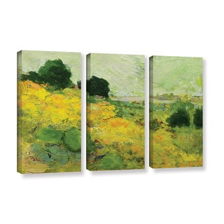 Allan Friedlander's 'Brighton' 3-piece Gallery Wrapped Canvas Set