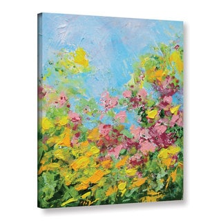Allan Friedlander's 'Butchart Garden' Gallery Wrapped Canvas