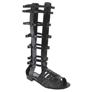 Beston Women's Gladiator Flat Sandals
