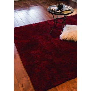 Shilo Red Solid Rug (7'10 x 10'6)