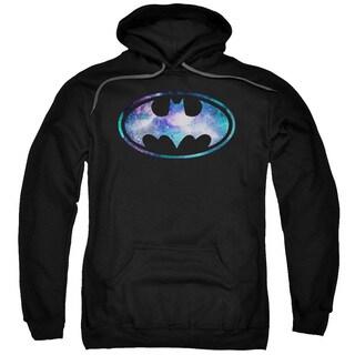 Batman/Galaxy 2 Signal Adult Pull-Over Hoodie in Black