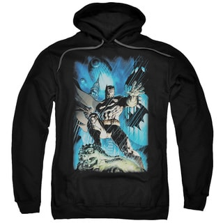 Batman/Stormy Dark Knight Adult Pull-Over Hoodie in Black