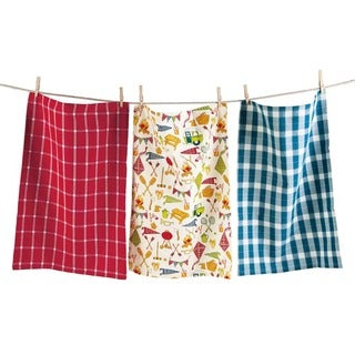 TAG Camping Dishtowel Set of 3 Multi