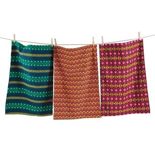 TAG Global Dishtowel Set of 3 Multi