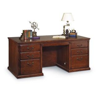 Havington Overbrook Double-pedestal Executive Desk