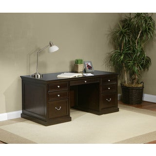 Forestville 68-inch Double Pedestal Executive Desk