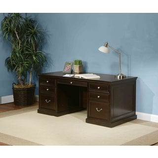 Forestville 72-inch Double-pedestal Executive Desk