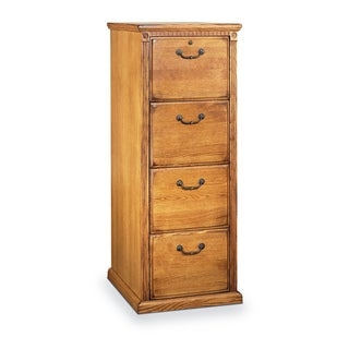 Havington Overbrook Hardwood 4-drawer File Cabinet (Wheat)