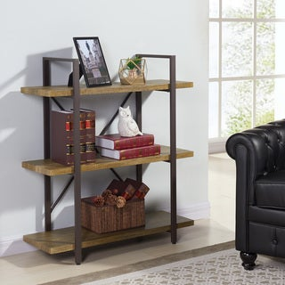 Danya B Three Level Rustic Shelving Unit