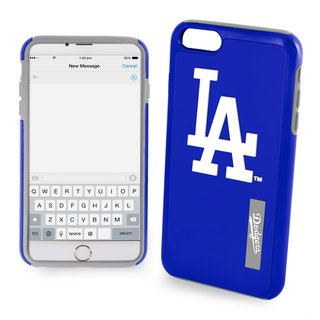 MLB Los Angeles Dodgers Blue iPhone 6 and 6s Dual Hybrid Case (2 Pieces)